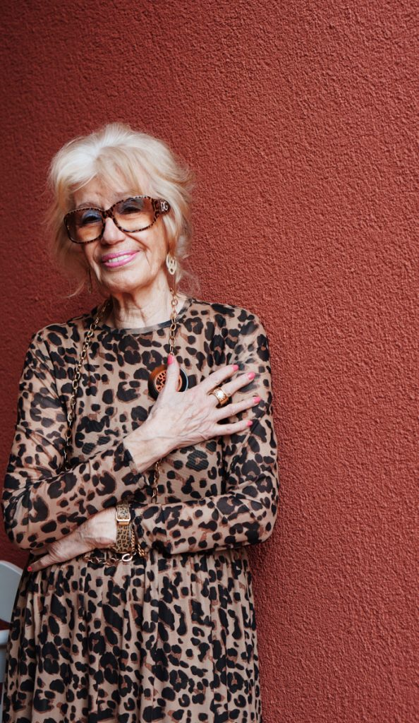 Leoprint Outfits für Frauen ab 70